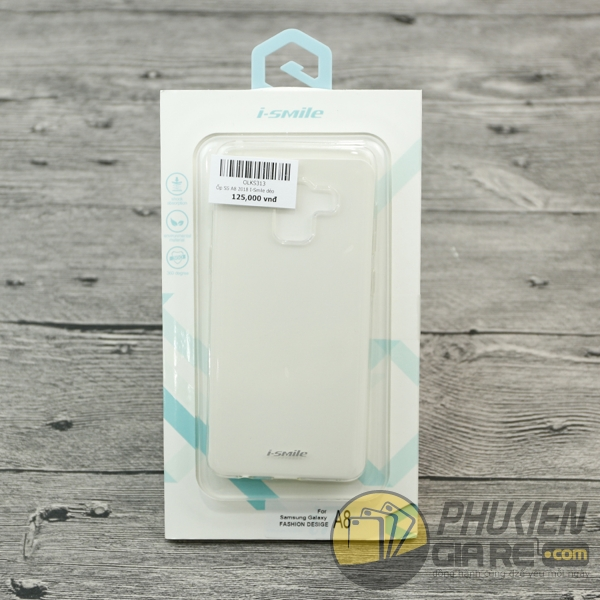 Ốp lưng Galaxy A8 2018 dẻo trong suốt i-Smile - Sky Wallker