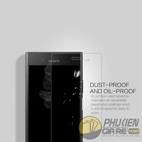 Dán cường lực Sony XZ1 hiệu Nillkin 9H+