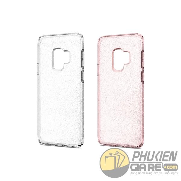 Ốp lưng Galaxy S9 Plus kim tuyến Spigen Liquid Crystal Glitter