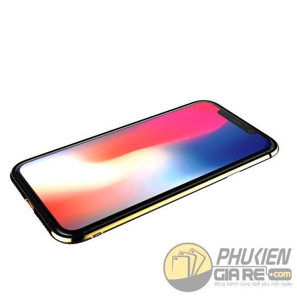 Viền nhựa iPhone X Hiệu Totu (Evoque Series)