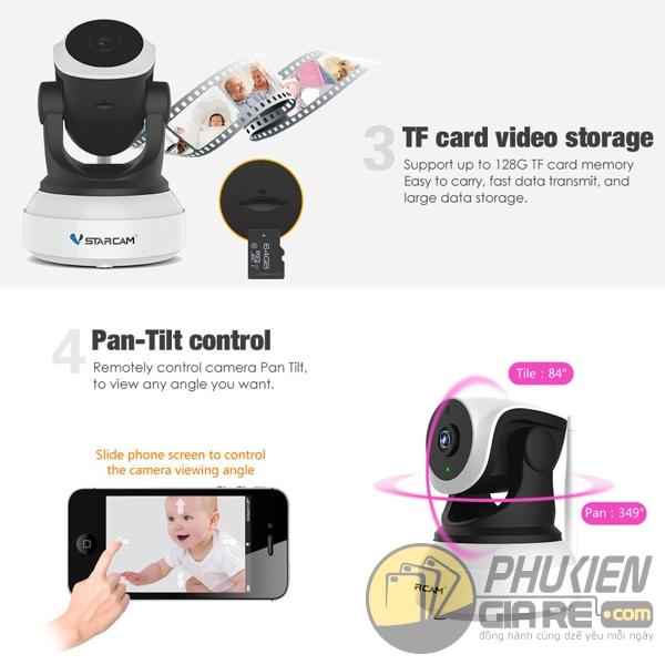 Camera IP không dây VStarcam C7824WIP PnP