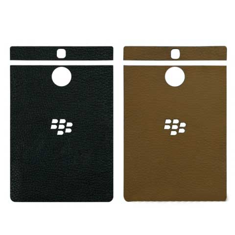 Miếng dán da BlackBerry Passport Silver Edition da bò 100% Made in Việt Nam 1396