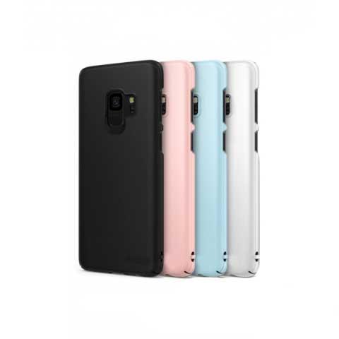 Ốp lưng Galaxy S9 Plus nhựa nhám siêu mỏng Ringke Slim