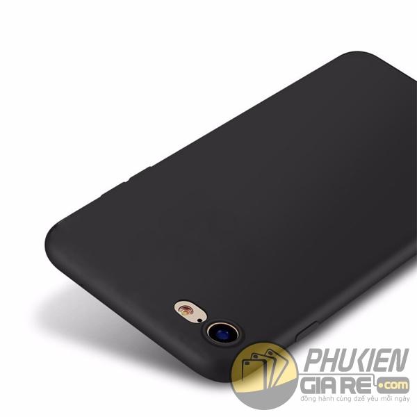 Ốp lưng iPhone 7 nhựa dẻo hiệu Pudini màu đen giá rẻ