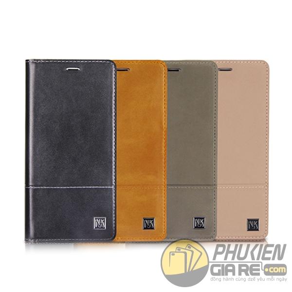 bao da iphone 8 plus dạng ví - bao da iphone 8 plus giá rẻ - bao da iphone 8 plus nouku gentle 1720