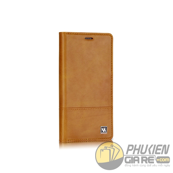 bao da iphone 8 plus dạng ví - bao da iphone 8 plus giá rẻ - bao da iphone 8 plus nuoku gentle 1726