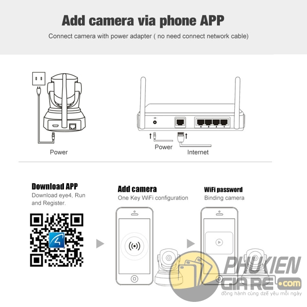 camera ip vstarcam f24s - camera không dây vstarcam f24s - camera wifi vstarcam f24s - camera vstarcam f24s full hd 1080p 1665