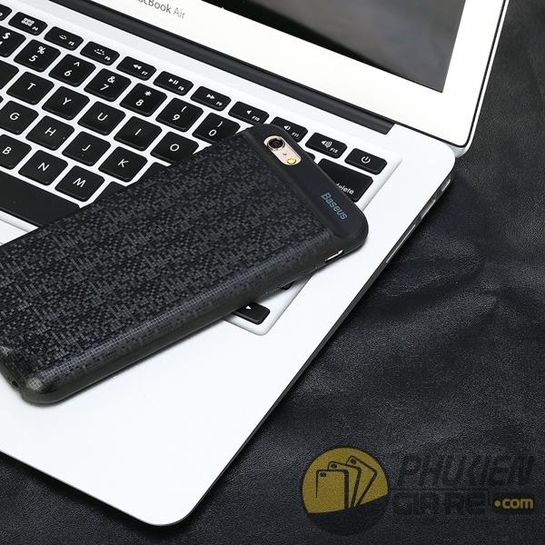 ốp lưng iphone 7 kiêm pin dự phòng 5000 mah - ốp lưng kiêm sạc dự phòng iphone 7 baseus plaid 1671
