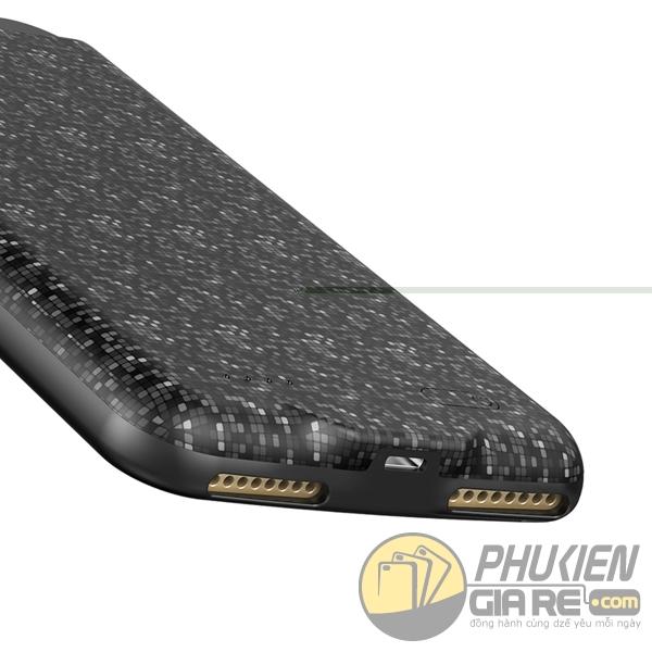 ốp lưng iphone 7 kiêm pin dự phòng 5000 mah - ốp lưng kiêm sạc dự phòng iphone 7 baseus plaid 1677