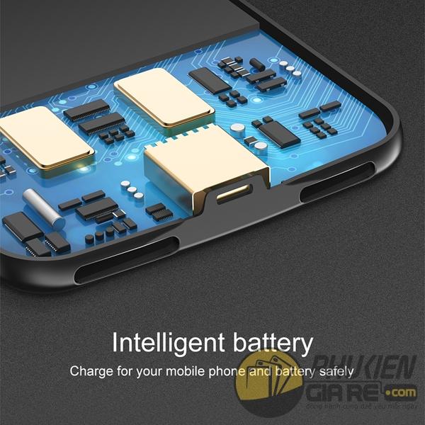 ốp lưng iphone 8 kiêm pin dự phòng 5000 mah - ốp lưng kiêm sạc dự phòng iphone 8 baseus plaid 1682