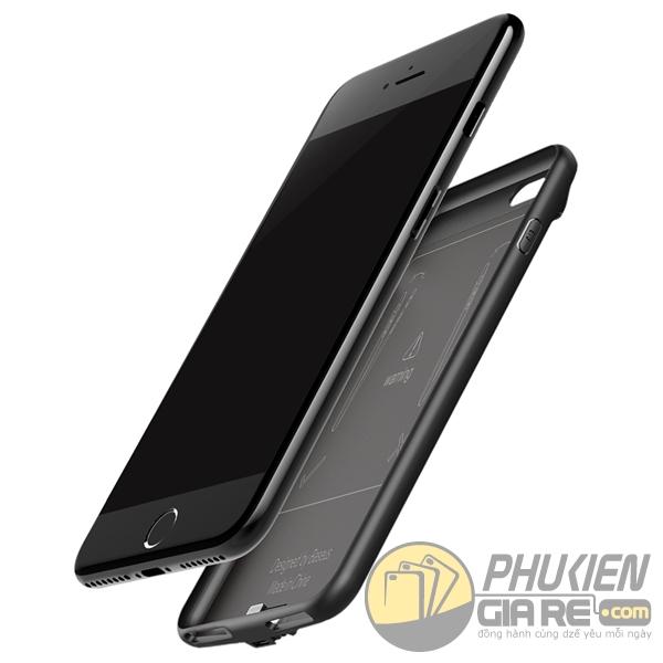 ốp lưng iphone 8 kiêm pin dự phòng 5000 mah - ốp lưng kiêm sạc dự phòng iphone 8 baseus plaid 1688