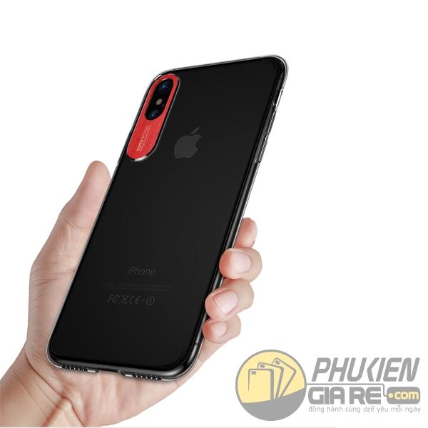 ốp lưng iphone x trong suốt - ốp lưng iphone x siêu mỏng - ốp lưng iphone x bảo vệ camera - ốp lưng iphone x totu design sparkling 2578
