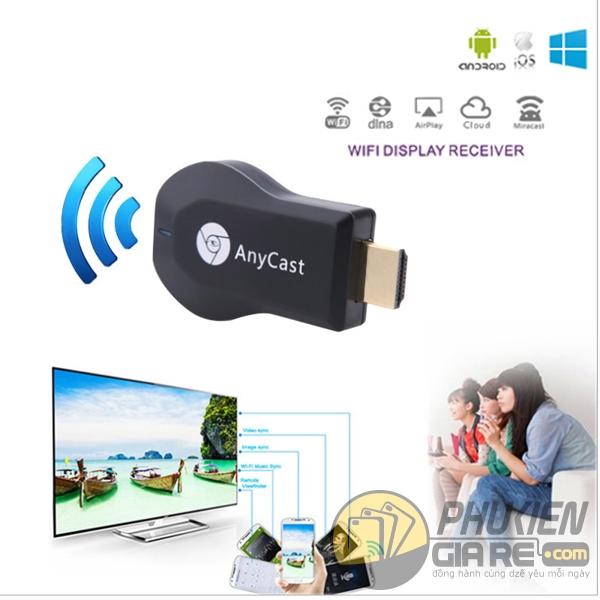 hdmi không dây anycast m9 plus - hdmi không dây cho iphone - hdmi không dây cho laptop - bộ kết nối hdmi không dây anycast m9 plus full hd 1080p 4167
