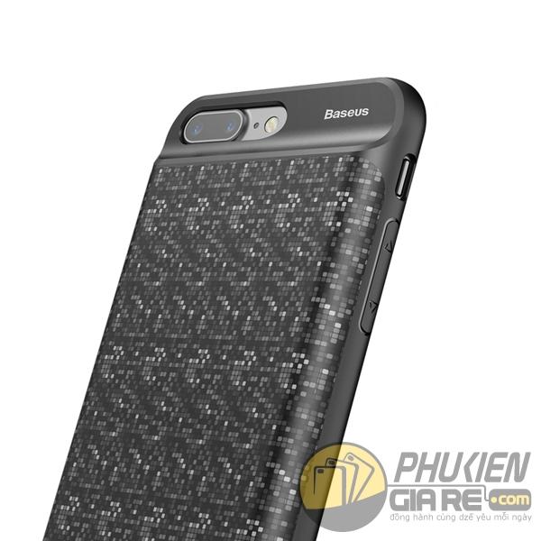 ốp lưng iphone 7 plus kiêm pin dự phòng 7300 mah - ốp lưng kiêm sạc dự phòng iphone 7 plus baseus plaid 3367