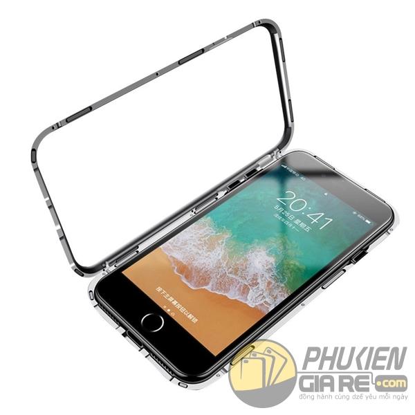 ốp lưng iPhone 8 nam châm - ốp lưng iPhone 8 bằng kính cường lực - ốp lưng iPhone 8 từ tính - ốp lưng iPhone 8 likgus 5102
