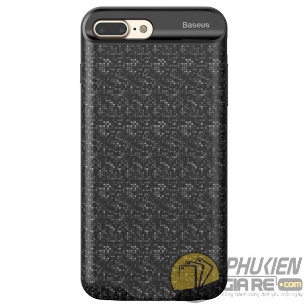 ốp lưng iphone 8 plus kiêm pin dự phòng 7300 mah - ốp lưng kiêm sạc dự phòng iphone 8 plus baseus plaid 3389