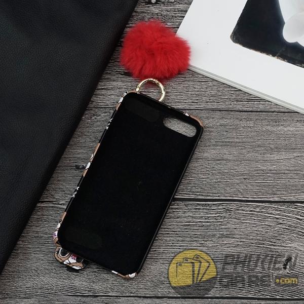 ốp lưng iphone 7 plus gấu đen dễ thương - ốp lưng iphone 7 plus có đai cầm tay - ốp lưng iphone 7 plus cho nữ tphcm 5738