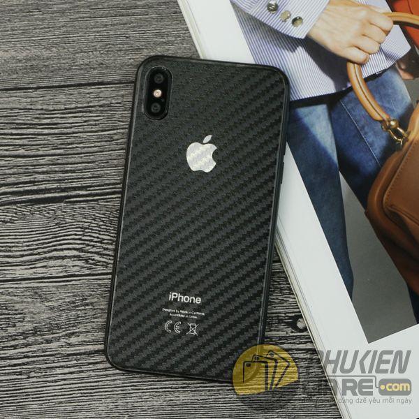 miếng dán carbon iphone xs - dán carbon mặt lưng iphone xs 7799