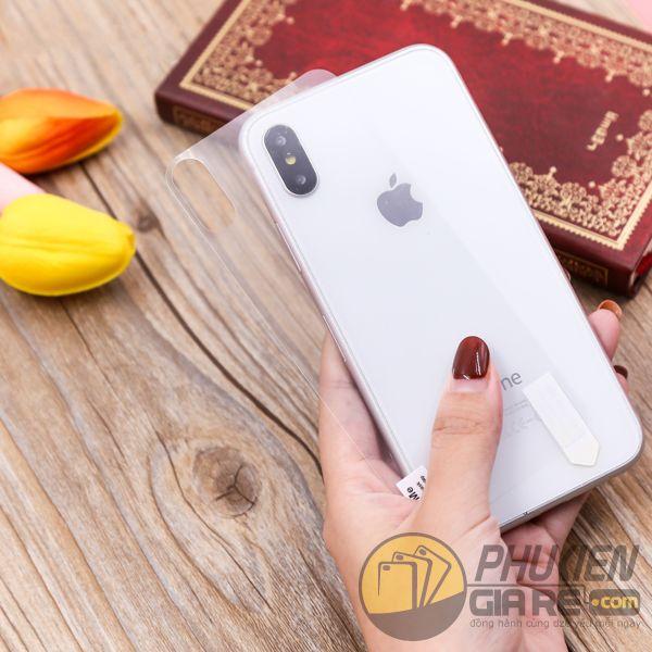 miếng dán lưng iphone xs - miếng dán chống trầy mặt lưng iphone xs - miếng dán iphone xs film mặt lưng chống trầy 7803
