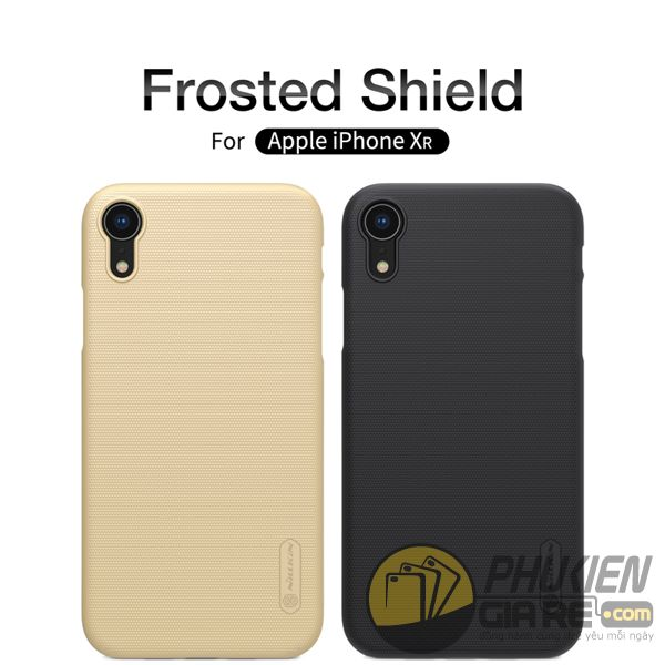 ốp lưng iphone xr nhựa sần - ốp lưng iphone xr đẹp - ốp lưng iphone xr nillkin super frosted shield 8093