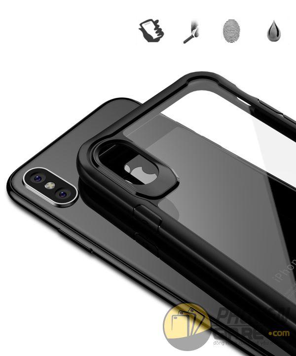 ốp lưng iphone xs chống sốc - ốp lưng iphone xs trong suốt - ốp lưng iphone xs dẻo - ốp lưng iphone xs ipaky luckcool 8450