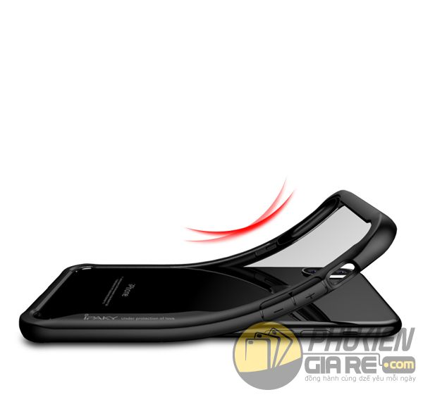 ốp lưng iphone xs chống sốc - ốp lưng iphone xs trong suốt - ốp lưng iphone xs dẻo - ốp lưng iphone xs ipaky luckcool 8452