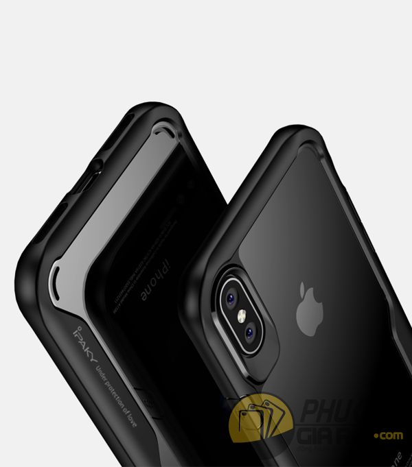 ốp lưng iphone xs chống sốc - ốp lưng iphone xs trong suốt - ốp lưng iphone xs dẻo - ốp lưng iphone xs ipaky luckcool 8453