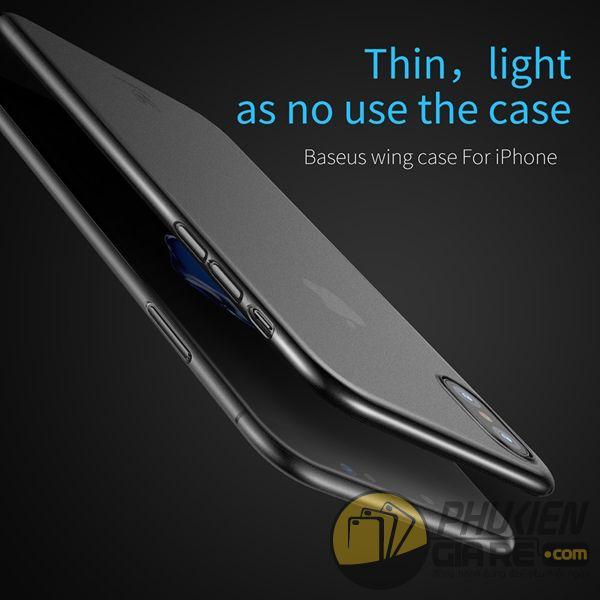ốp lưng iphone xs siêu mỏng - ốp lưng iphone xs đẹp - ốp lưng iphone xs baseus wing series 7978