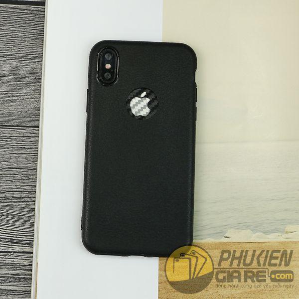 ốp lưng iphone xs silicone giả da - ốp lưng iphone xs dẻo - ốp lưng iphone xs đẹp - ốp lưng iphone xs tphcm 7811