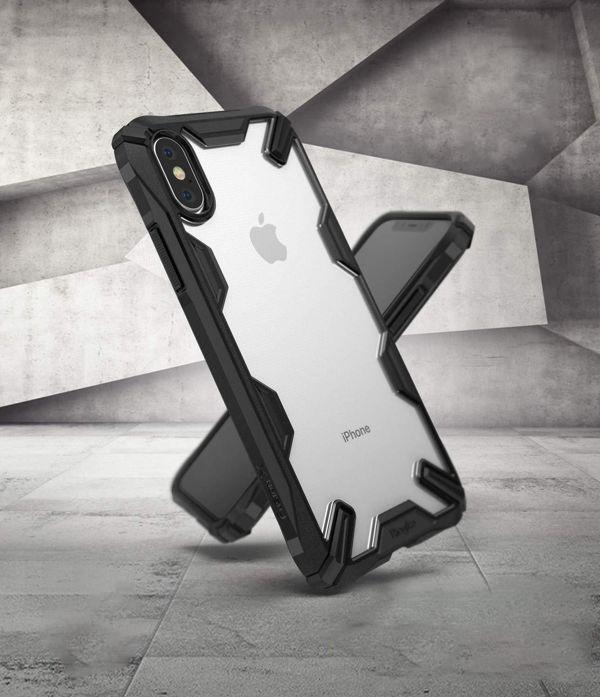ốp lưng iphone x chống sốc - ốp lưng iphone x trong suốt - ốp lưng iphone x ringke fusion x 9225