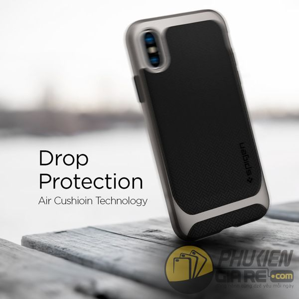 ốp lưng iphone xs chống sốc - ốp lưng iphone xs đẹp - ốp lưng iphone xs spigen neo hybrid 10102