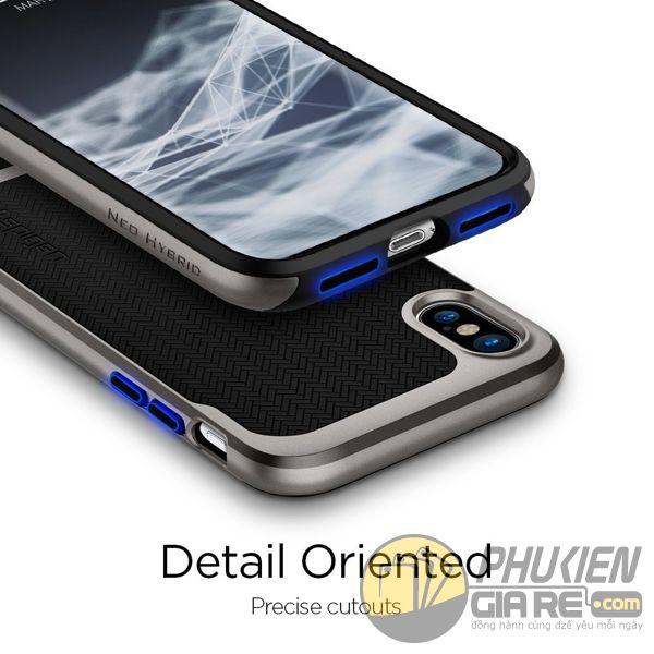 ốp lưng iphone xs chống sốc - ốp lưng iphone xs đẹp - ốp lưng iphone xs spigen neo hybrid 10105