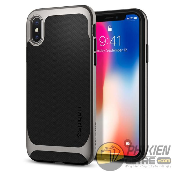 ốp lưng iphone xs chống sốc - ốp lưng iphone xs đẹp - ốp lưng iphone xs spigen neo hybrid 10106