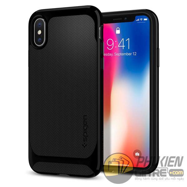 ốp lưng iphone xs chống sốc - ốp lưng iphone xs đẹp - ốp lưng iphone xs spigen neo hybrid 10107