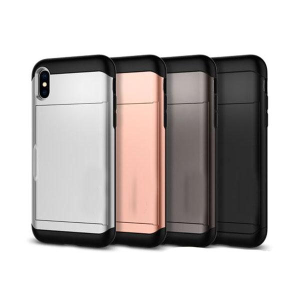 ốp lưng iphone xs đựng card - ốp lưng iphone xs chống sốc - ốp lưng iphone xs spigen slim armor cs (10145)