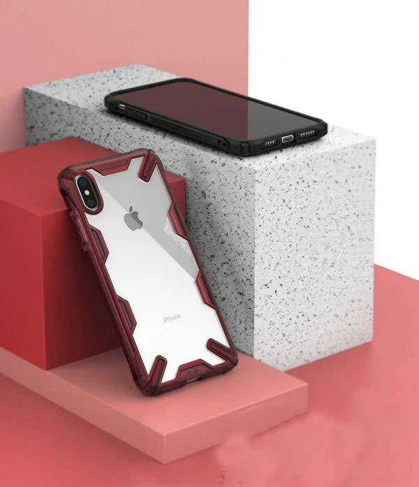 ốp lưng iphone xs max chống sốc - ốp lưng iphone xs max trong suốt - ốp lưng iphone xs max ringke fusion x 9187
