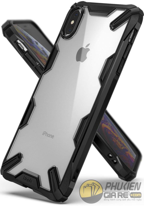 ốp lưng iphone xs max chống sốc - ốp lưng iphone xs max trong suốt - ốp lưng iphone xs max ringke fusion x 9189