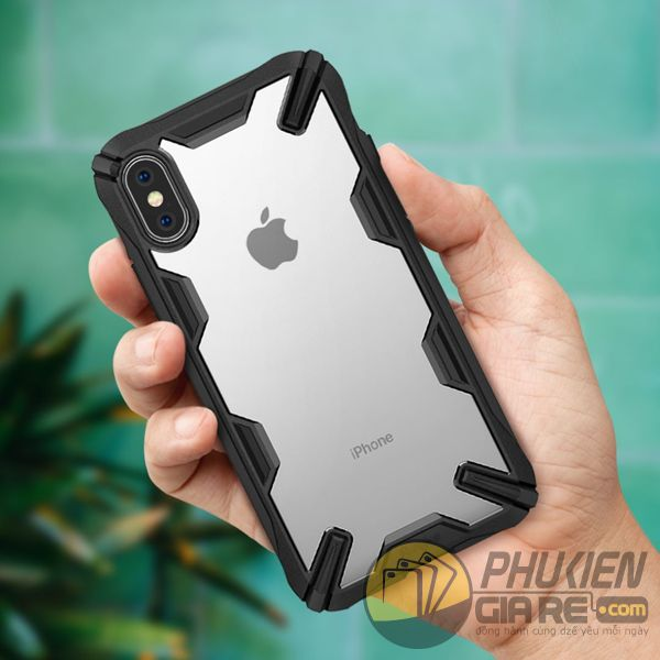 ốp lưng iphone xs max chống sốc - ốp lưng iphone xs max trong suốt - ốp lưng iphone xs max ringke fusion x 9197