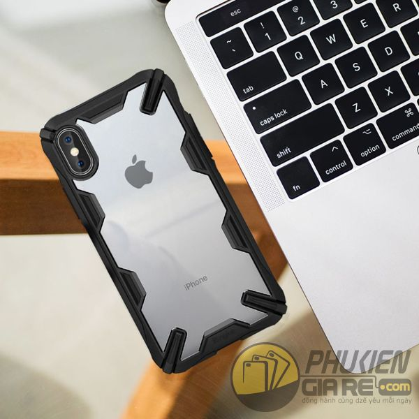 ốp lưng iphone xs max chống sốc - ốp lưng iphone xs max trong suốt - ốp lưng iphone xs max ringke fusion x 9198