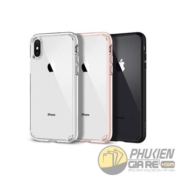 ốp lưng iphone xs max chống sốc - ốp lưng iphone xs max trong suốt - ốp lưng iphone xs max spigen ultra hybrid (10755)