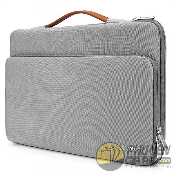 túi chống sốc laptop 15 inch tomtoc briefcase sliver gray a14-d01g - túi chống sốc thinkpad chromebook - túi chống sốc macbook pro 15 inch 2016/2017/2018 9774