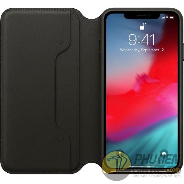 bao da iphone xs max đẹp - bao da iphone xs max dạng ví - bao da iphone xs max leather folio (12396)
