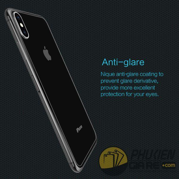 dán cường lực iphone xs max mặt lưng - kính cường lực iphone xs max mặt lưng 9h nillkin amazing h (11967)