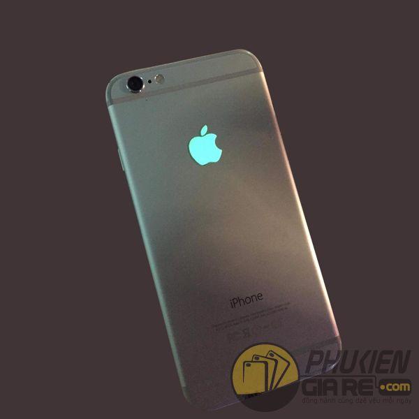 logo táo dạ quang - miếng dán logo iphone - miếng dán logo apple phát sáng (12568)
