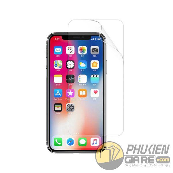 miếng dán màn hình iphone x itop - miếng dán chống trầy màn hình iphone x - miếng dán iphone x film chống trầy (12578)