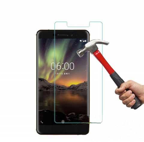 miếng dán màn hình nokia 6.1 - miếng dán cường lực nokia 6.1 - kính cường lực nokia 6.1 glass (13237)