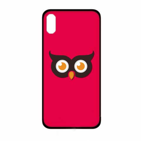 ốp lưng iphone x đẹp cho nữ - ốp lưng iphone x dễ thương - ốp lưng iphone x ipearl cute animal 3d owl (13020)