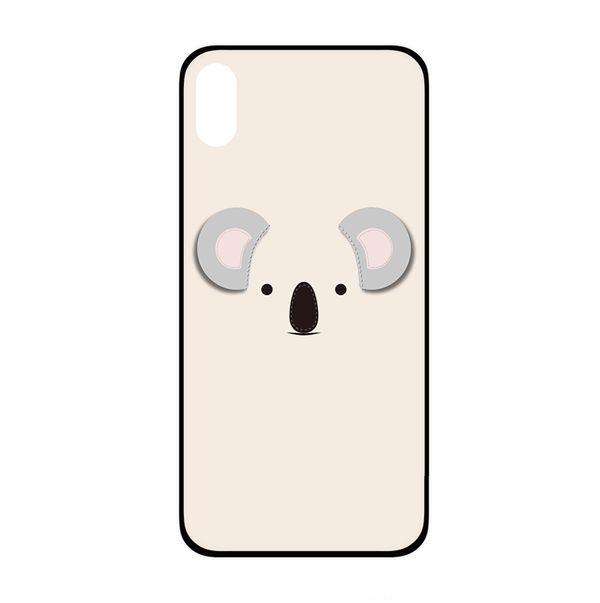 ốp lưng iphone xs đẹp cho nữ - ốp lưng iphone xs dễ thương - ốp lưng iphone xs ipearl cute animal 3d koala (13018)