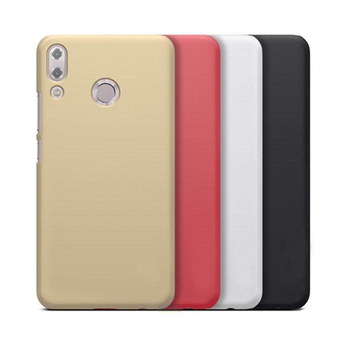 ốp lưng zenfone 5 2018 ze620kl nhựa sần - case cho zenfone 5 2018 ze620kl - ốp lưng zenfone 5 2018 ze620kl nillkin super frosted shield (12826)