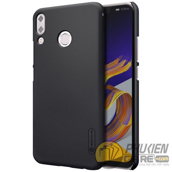ốp lưng zenfone 5 2018 ze620kl nhựa sần - case cho zenfone 5 2018 ze620kl - ốp lưng zenfone 5 2018 ze620kl nillkin super frosted shield (12839)